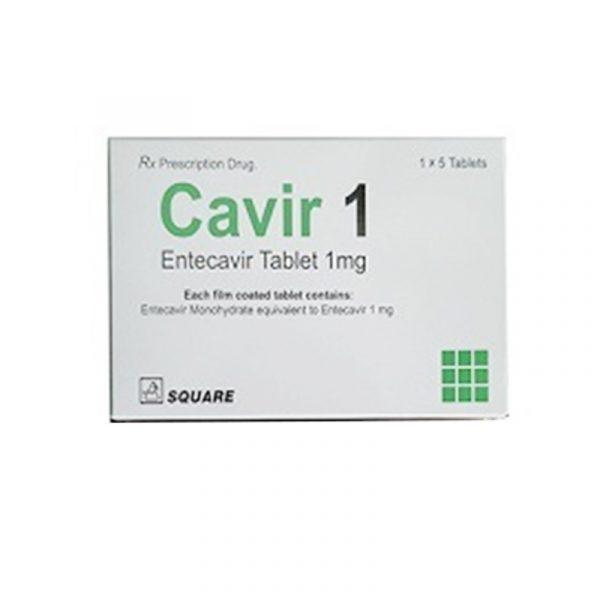 Thuốc Cavir 1 - Hộp 5 Viên - Điều Trị Viêm Gan B