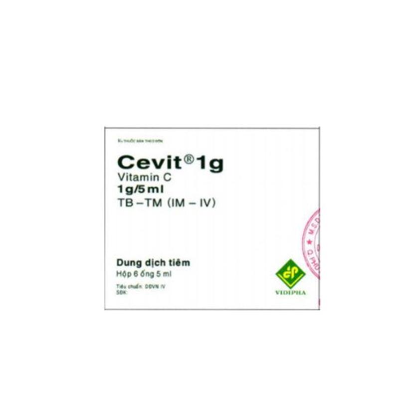 Cevit 1g - Hộp 6 ống