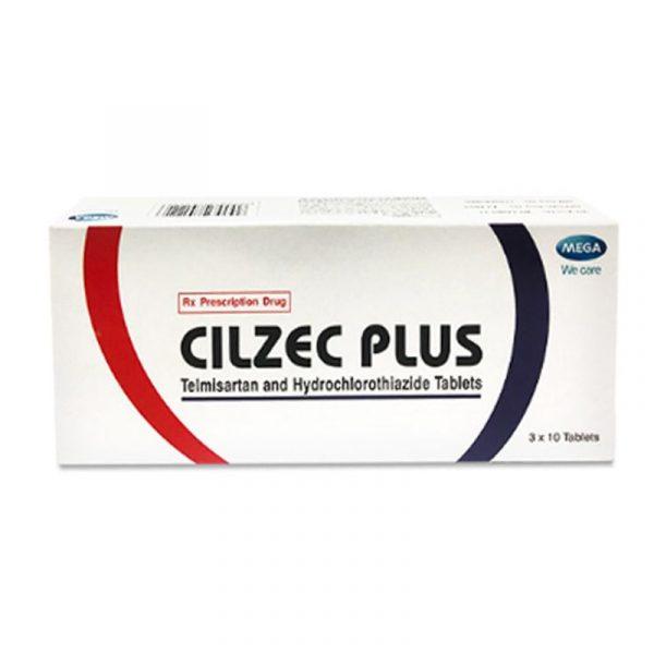 Thuốc Cilzec Plus - Hộp 30 Viên - Thuốc Tim Mạch