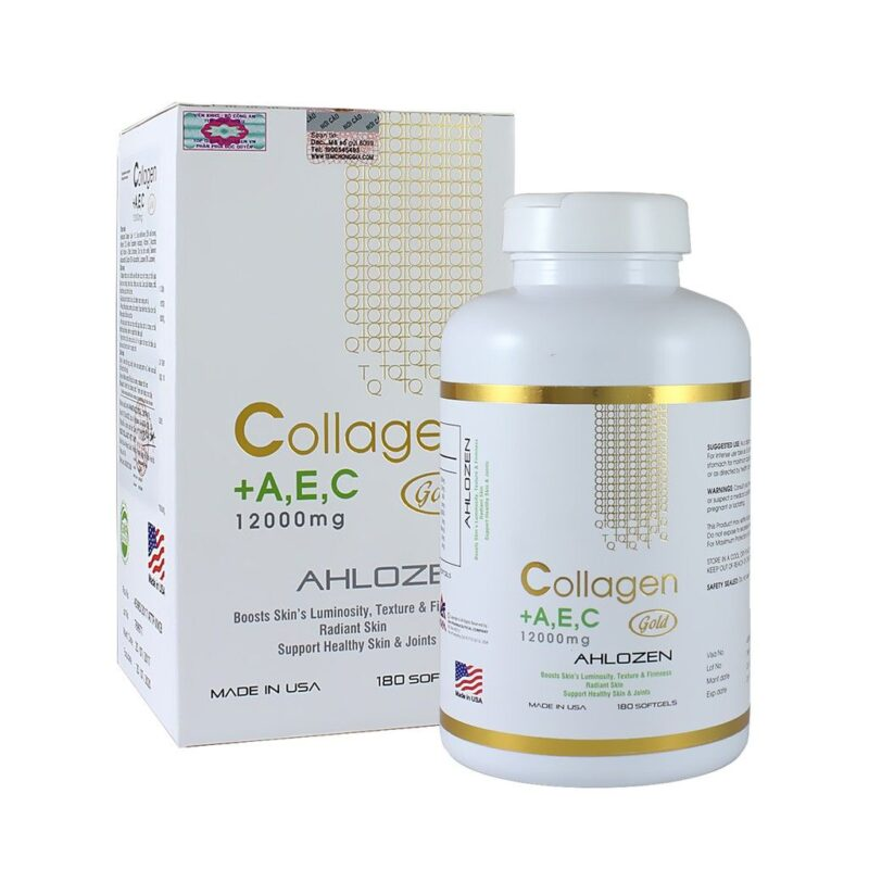 Collagen AEC Hộp 180 Viên