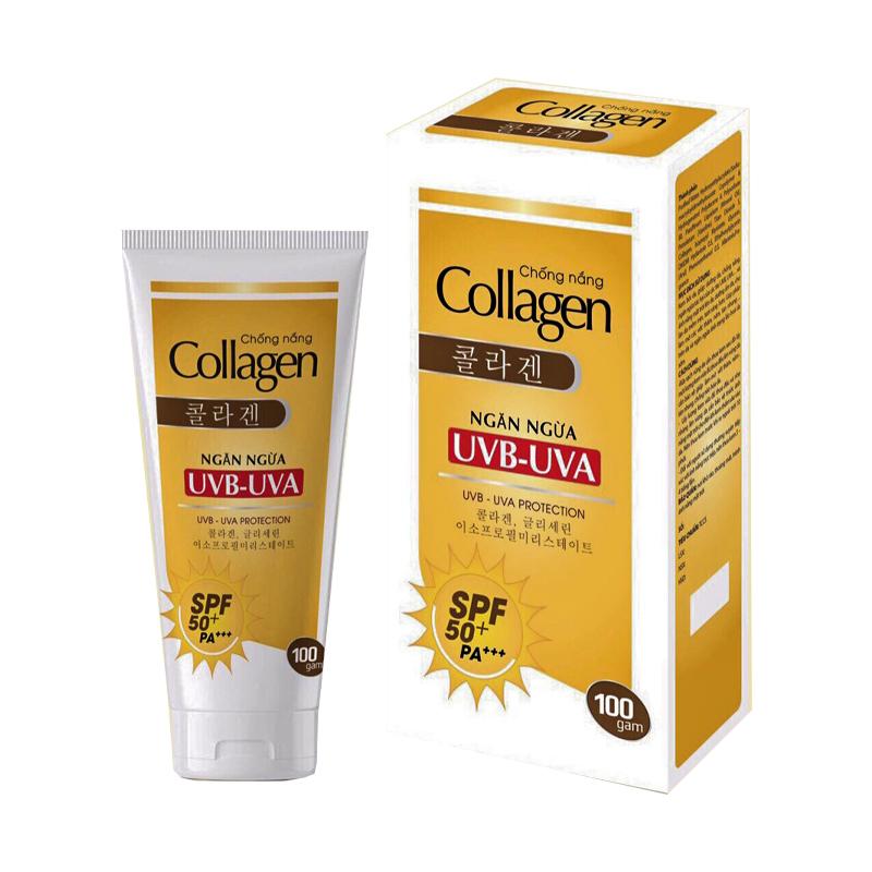 Collagen Tuýp 100gr - Kem dưỡng da, chống nắng