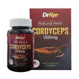 Drlife Cordyceps Lọ 60 Viên - Tăng Cường Sức Khỏe