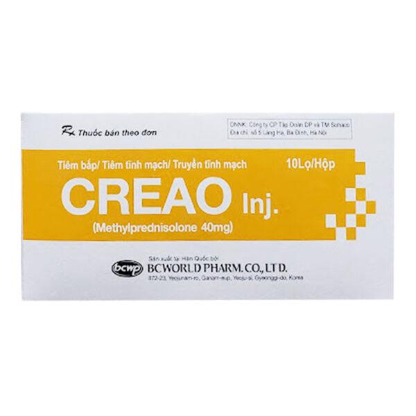 Thuốc Creao Inj - Hộp 10 Lọ - Trị Viêm Khớp, Dị Ứng