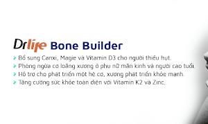 Bone Builder Hộp 60 Viên - Hỗ Trợ Điều Trị Loãng Xương