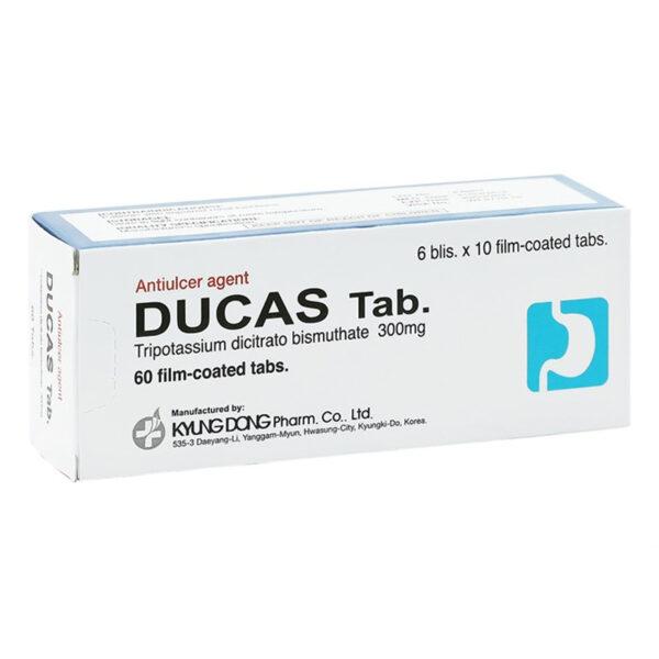Ducas Tab 300mg Hộp 60 viên - Thuốc trị loét dạ dày, tá tràng