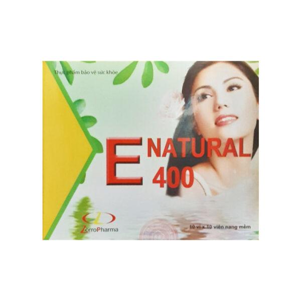 E Natural 400 Hộp 100 Viên - Điều Trị Chứng Loạn Vận Động