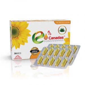E400 Canadas - Hộp 30 Viên - Bổ Sung Vitamin E Cho Cơ Thể