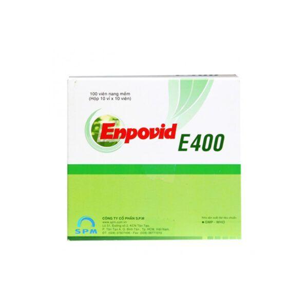 Enpovid E400 Hộp 100 Viên - Giúp Bổ Sung Vitamin E