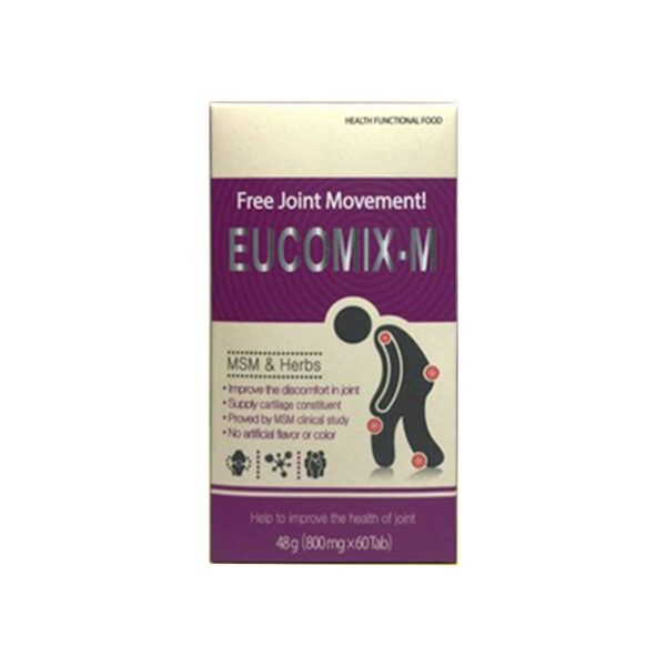 Eucomix M Hộp 60 viên - Hỗ trợ điều trị triệu chứng thoái hóa khớp