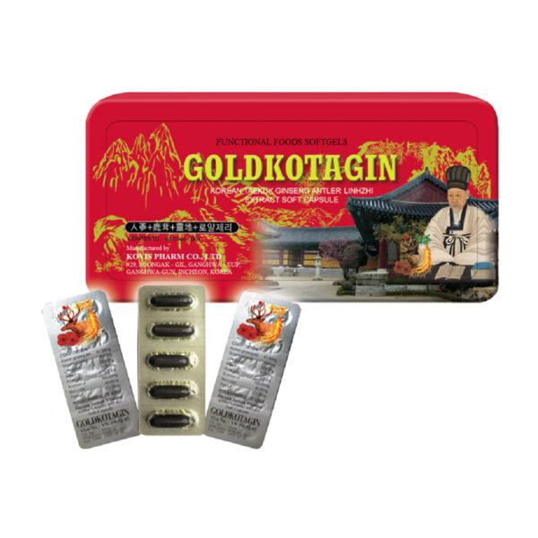 GoldKotagin Hộp 120 Viên - Hỗ Trợ Bồi Bổ Cơ Thể
