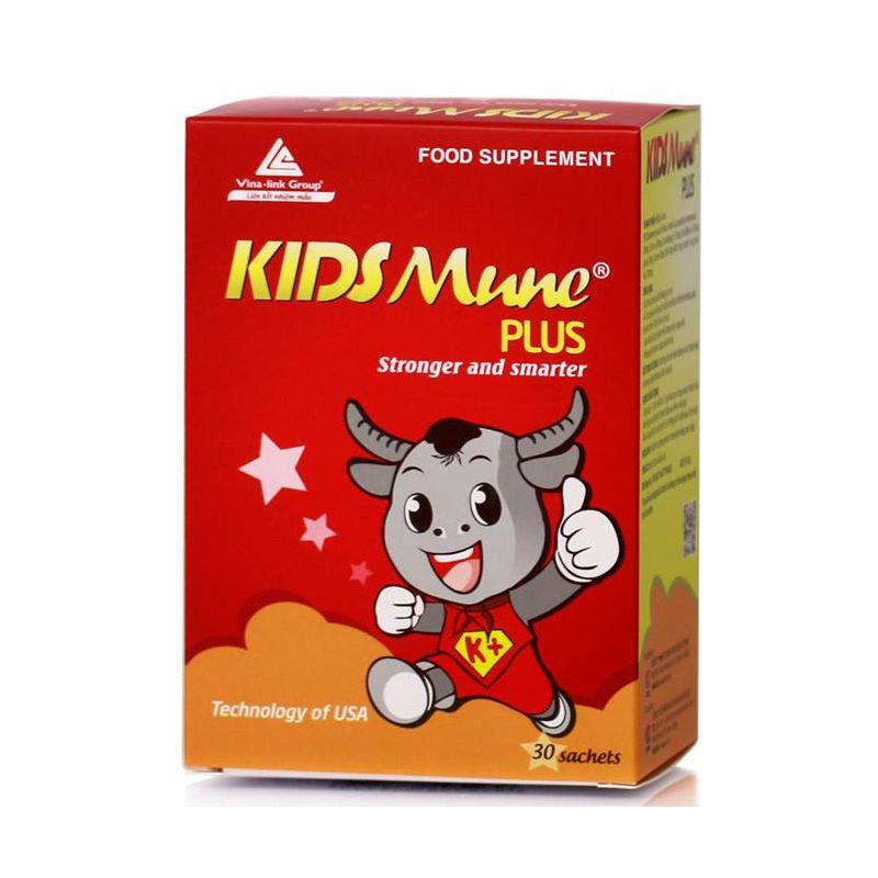 Kidsmune Plus Hộp 30 Gói