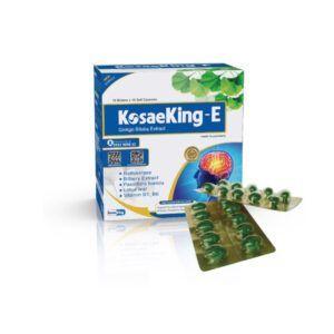 KosaeKing E Hộp 100 Viên - Hoạt Huyết Dưỡng Não