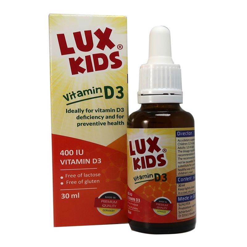 Lux Kids Vitamin D3 Lọ 30ml