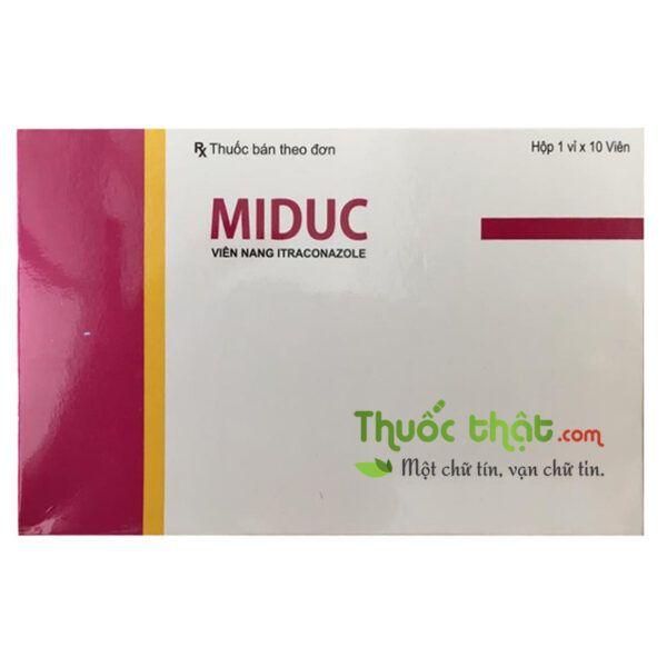 Miduc Hộp 10 viên - Điều trị nấm ở bệnh nhân suy giảm miễn dịch