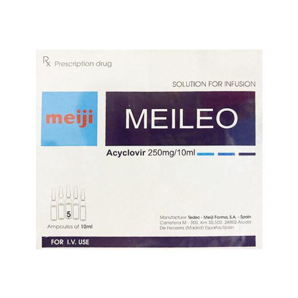 Meileo Hộp 5 Ống - Trị Nhiễm Trùng Do Virus Herpes Simplex