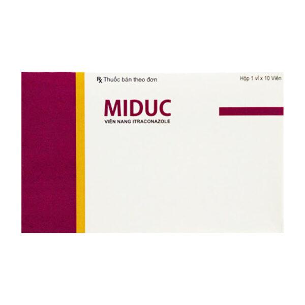 Miduc Hộp 10 Viên - Thuốc Điều Trị Nấm