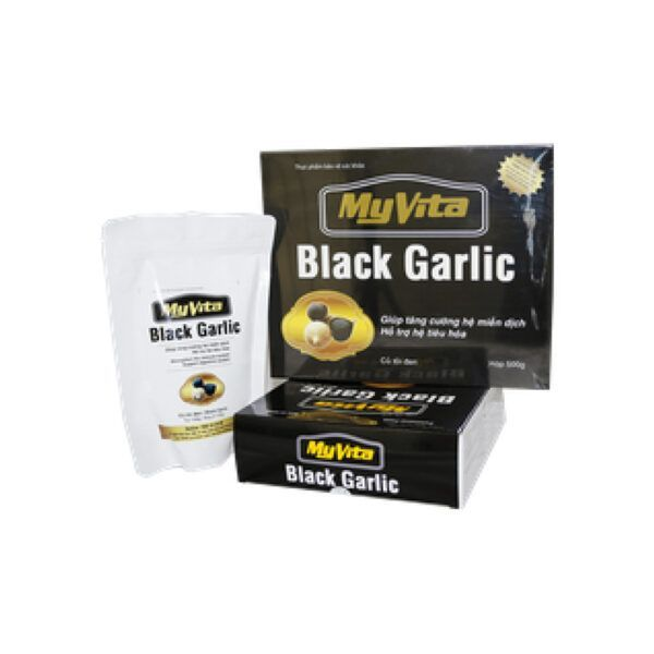 MyVita Black Garlic Túi 100g - Tăng Cường Hệ Miễn Dịch, Hỗ Trợ Hệ Tiêu Hóa