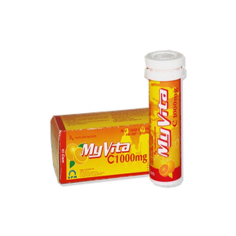 Myvita C 1000mg Tuýp 10 Viên
