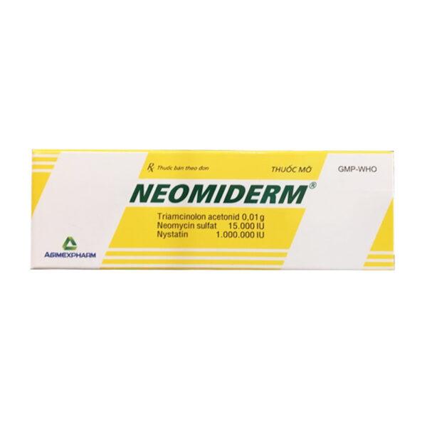Thuốc Mỡ Neomiderm Tuýp 10g - Điều Trị Các Bệnh Ngoài Da