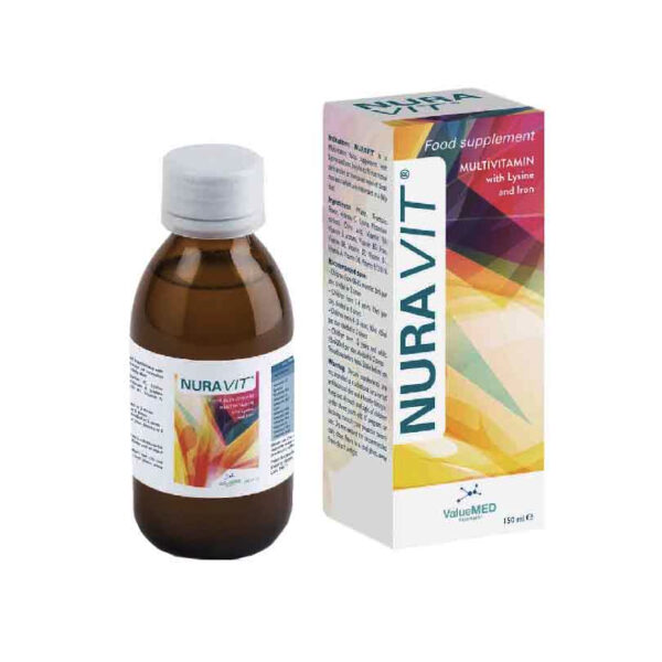 Nuravit Lọ 150ml - Bổ Sung Vitamin Và Khoáng Chất