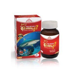 Omega 369 Lọ 60 Viên - Giảm Nguy Cơ Các Bệnh Về Tim Mạch
