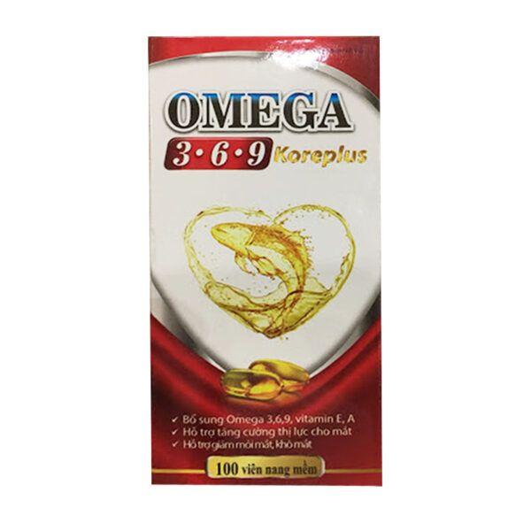 Omega 369 Koreplus Hộp 60 Viên - Làm Đẹp Da, Chống Lão Hóa