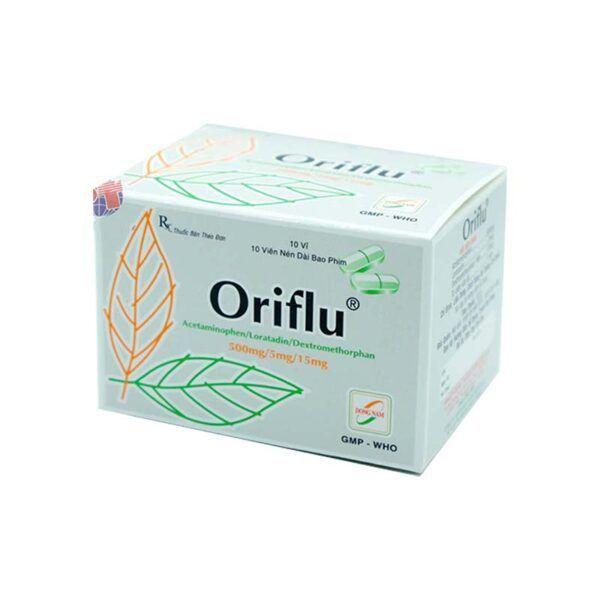 Oriflu Hộp 100 viên - Điều trị các triệu chứng cảm cúm