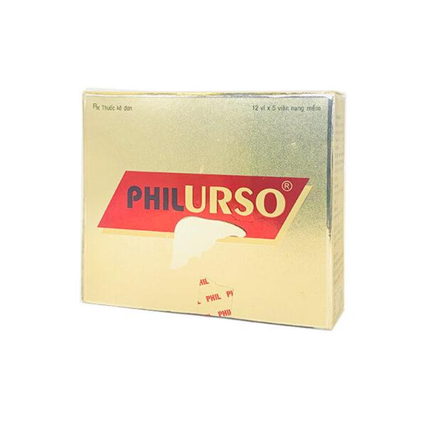Philurso Hộp 60 Viên - Điều Trị Bệnh Gan Mạn Tính