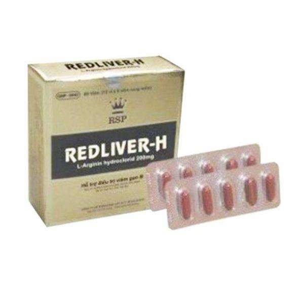 Red Liver 200mg Hộp 60 Viên - Điều Trị Rối Loạn Chức Năng Gan