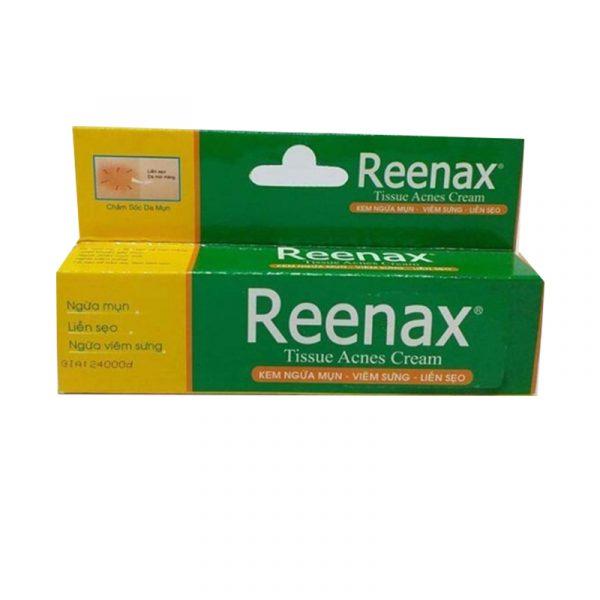 Reenax Hộp 5g - Hỗ trợ làm lành vết mụn, se khít lỗ chân lông