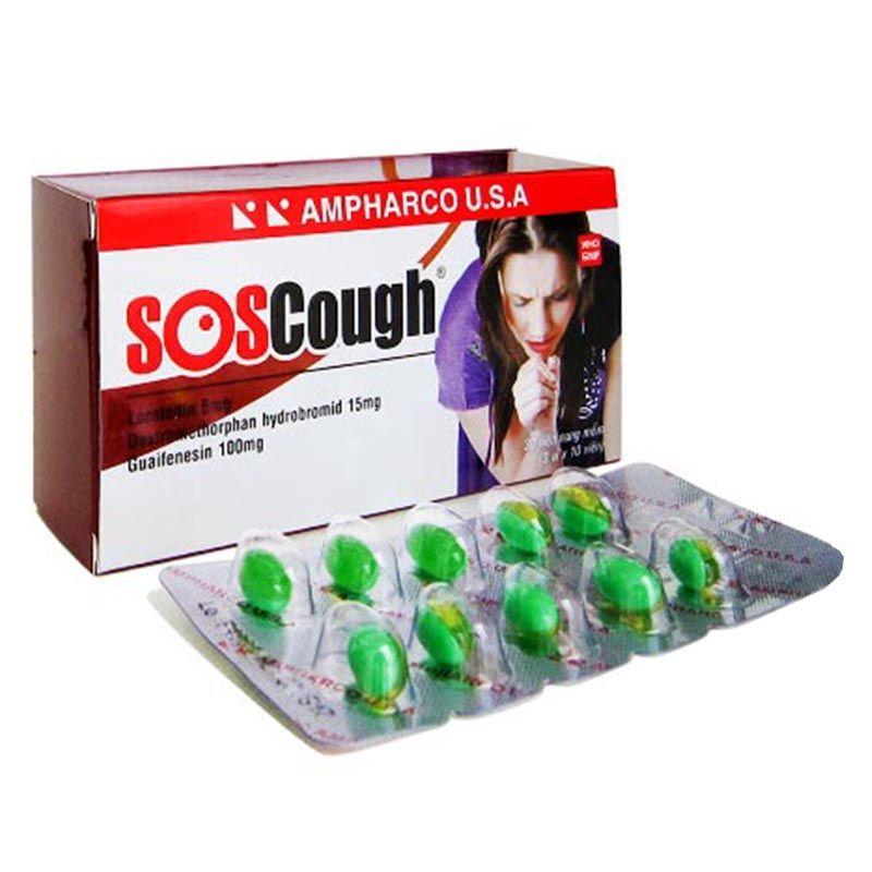 SoS Cough Hộp 100 Viên