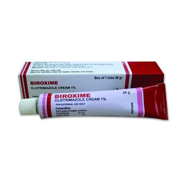 Biroxime Tuýp 20g - Điều Trị Tại Chỗ Bệnh Nấm