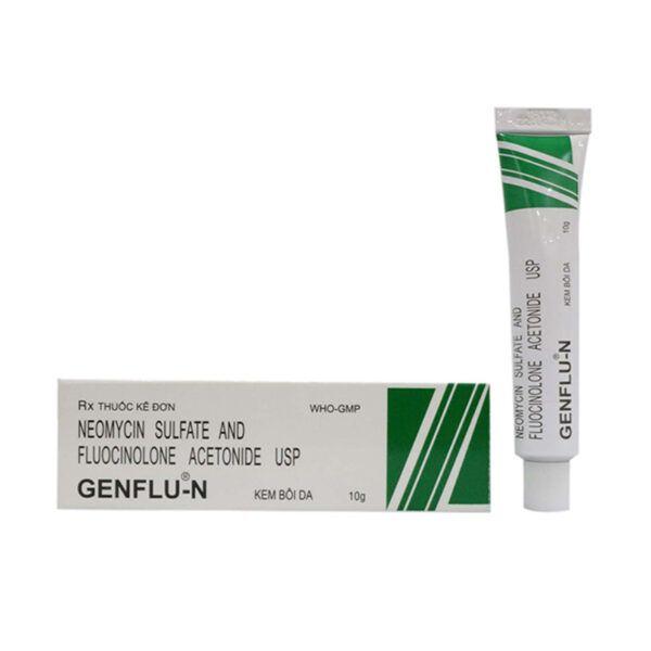 Kem Bôi Da Genflu N Tuýp 10g - Thuốc Điều Trị Các Bệnh Ngoài Da