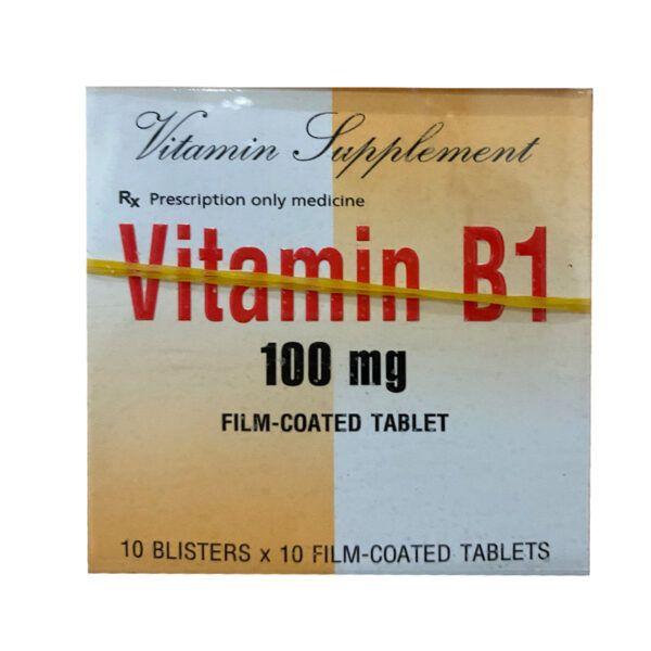 Vitamin B1 100mg Hộp 100 viên - Bổ Sung Vitamin B1