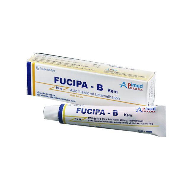 Kem Bôi Da Fucipa B - Tuýp 10g - Điều Trị Các Bệnh Viêm Da