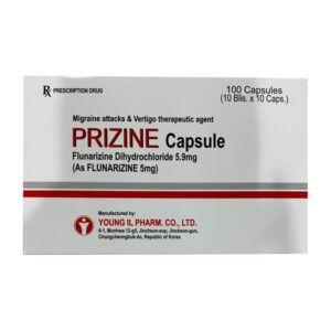 Prizine capsule Hộp 100 viên - Điều trị đau nửa đầu