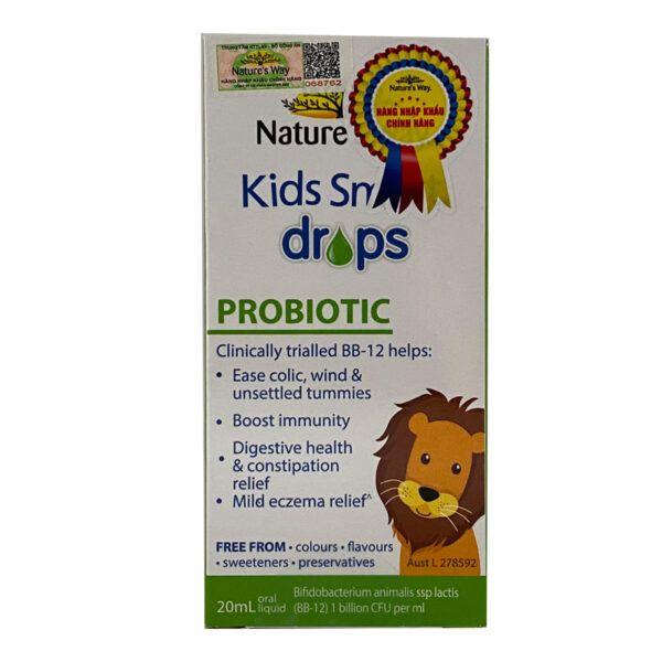Kid Smart Drops Probiotic Hộp 20ml - Bổ Sung Lợi Khuẩn Đường Ruột