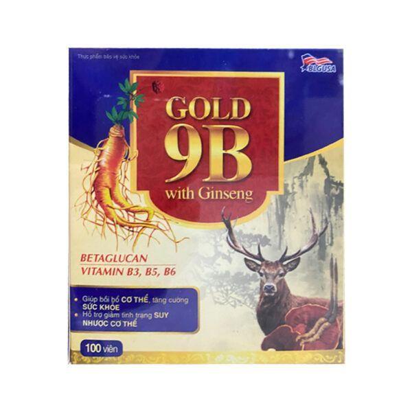Gold 9B with Ginseng Hộp 100 viên - Tăng cường sinh lực