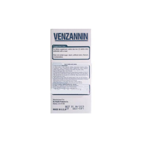 Venzannin Hộp 60 viên - Bổ sung các dưỡng chất cần thiết cho cơ thể