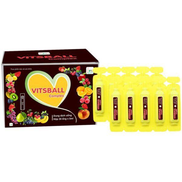 Vitsball Hộp 30 Ống - Phòng Ngừa Và Điều Trị Thiếu Vitamin C