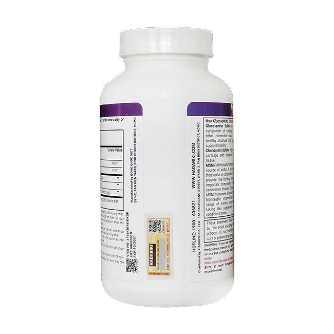 Glucosamine 1500mg Chondroitin 1000mg