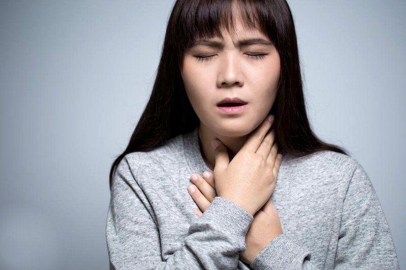 đau rát họng