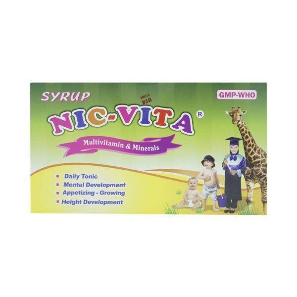 Siro Nic Vita Hộp 20 ống - Giúp Bổ Sung Lysin Và Các Vitamin