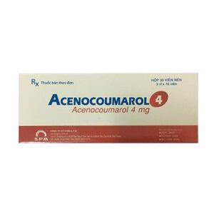 Acenocoumarol 4 Hộp 30 Viên - Điều Trị Và Ngăn Ngừa Huyết Khối