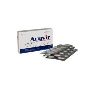 Acyvir Hộp 30 Viên - Thuốc Kháng Virus
