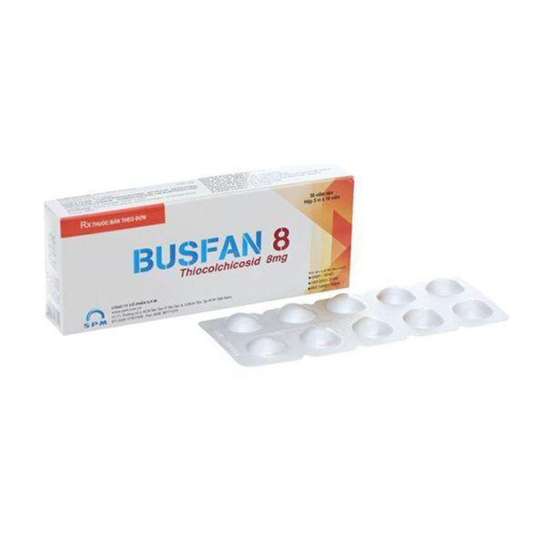Busfan 8 Hộp 30 Viên - Thuốc Giãn Cơ, Giảm Co Thắt