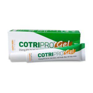 Cotripro Gel Tuýp 25g - Tốt Cho Người Bệnh Trĩ