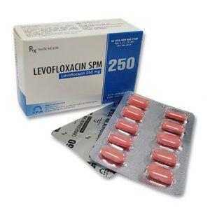 Levofloxacin SPM 250 Hộp 50 Viên