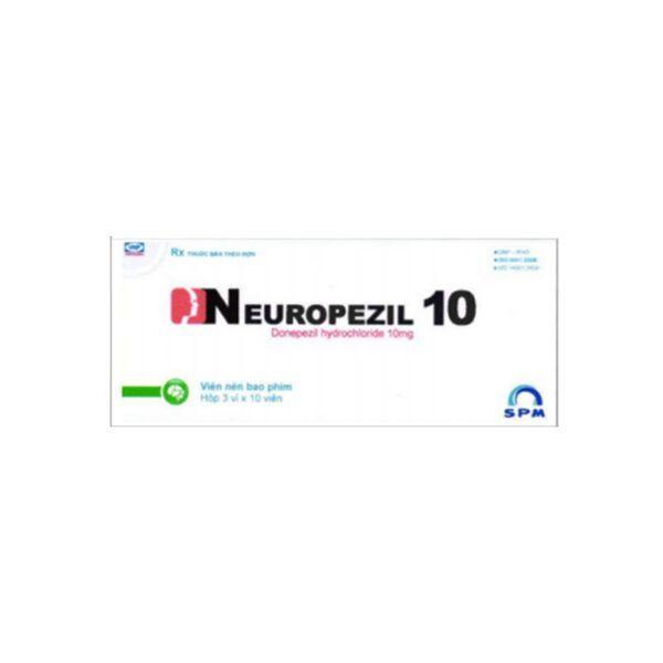 Neuropezil 10 Hộp 30 Viên - Điều Trị Giảm Trí Nhớ