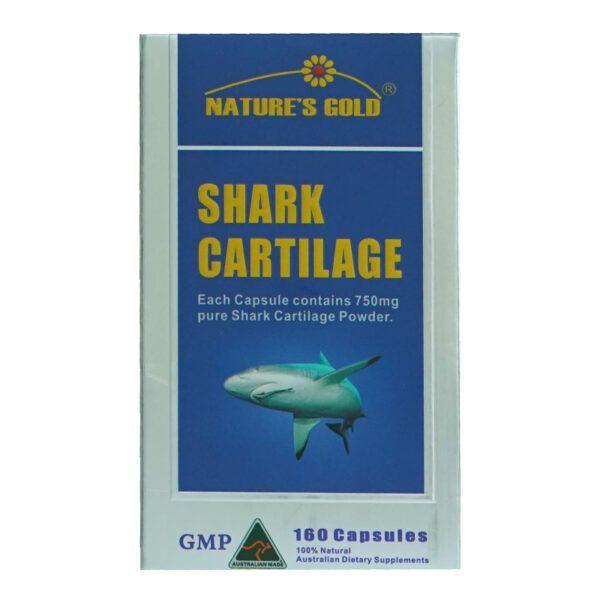 Shark Cartilage Hộp 160 Viên - Giúp Giảm Đau, Tái Tạo Và Nuôi Dưỡng Sụn Khớp